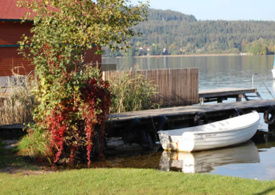 herbst-ruderboot